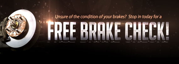 Free Brake Inspection Bend OR